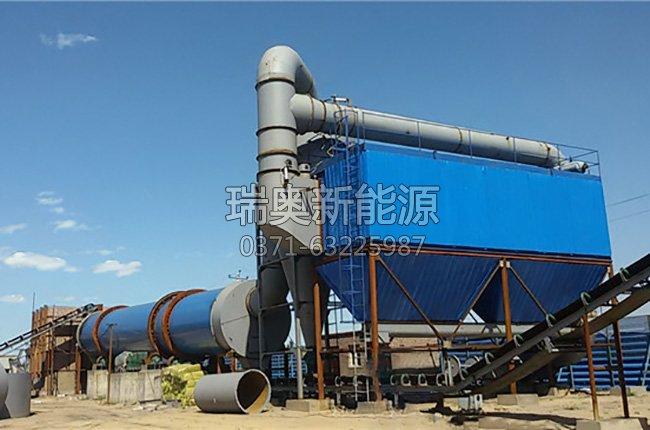 山西大型煤泥烘干机生产现场