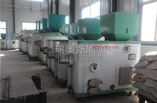 山东楷模家具厂燃煤锅炉改用一吨生物质颗粒燃