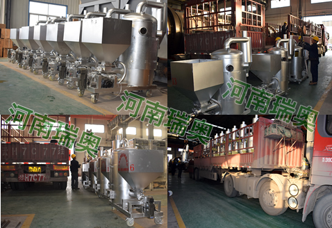 梅州生物质热风炉生产现场