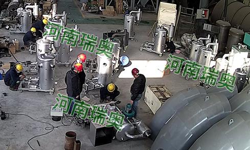 晋江生物质热风炉生产现场