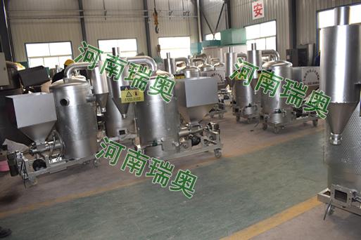 广东丰顺生物质热风炉生产现场