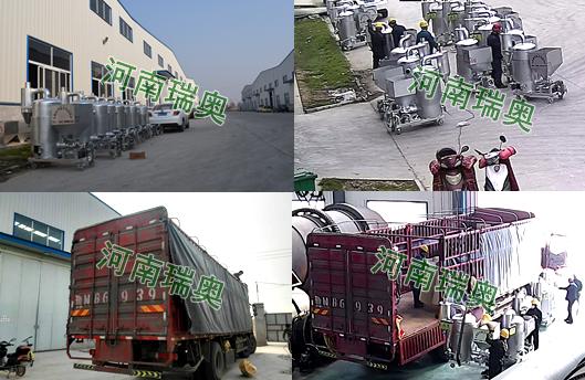 广东丰顺第二批生物质养殖热风炉发货